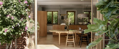Image: Slik forvandlet Kristine huset fra 1940-tallet til et moderne hjem