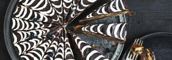 Image: Skremmende god spindelvevskake