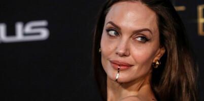Image: Angelina Jolies leppepryd vakte oppsikt på rød løper
